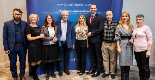 Janssen lansează prima platformă online dedicată asociațiilor de pacienți din România și Europa Centrală și de Est, Janssen4Patients